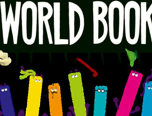 Mae'n Ddiwrnod Llyfr y Byd! / It's World Book Day!